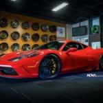 Siêu xe Ferrari 458 Speciale độ vành bởi ADV.1