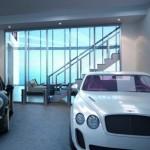 Nhà cao tầng của ông lớn Porsche có thang máy cho siêu xe