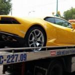 """Siêu xe Lamborghini Huracan biển """"tứ quý"""" 8 về Tây Ninh"""