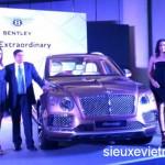 Xe siêu sang Bentley Bentayga giá từ 10,5 tỷ đồng tại Ấn Độ