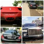 Chiêm ngưỡng bộ tứ siêu xe đắt nhất Lào Cai