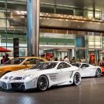 Choáng dàn siêu xe khủng dưới hầm của đại gia Dubai