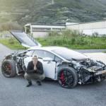 Quy trình sản xuất siêu xe Lamborghini Huracan in 3D