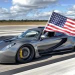 Siêu xe Hennessey Venom GT Spyder đạt kỷ lục nhanh nhất thế giới