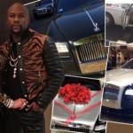 Tổng giá trị siêu xe Mayweather tặng bạn gái là 31 tỷ đồng