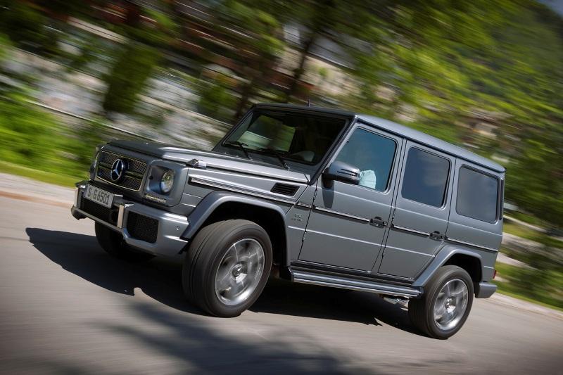 G 65 AMG (W 463) 2012/ Ausenfarbe: Indiumgrau / Leder: designo marron