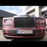 Ngắm xe siêu sang Rolls royce Phantom độ ở GUMBALL 3000!