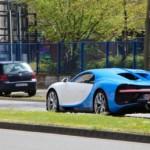 Siêu xe Bugatti Chiron hơn 50 tỷ đồng trên đường phố Đức