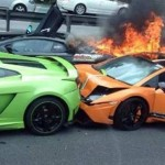 Những vụ tai nạn siêu xe đầu năm 2016 gây xôn xao