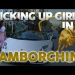 Những điều bất ngờ khi thử tán gái bằng siêu xe Lamborghini