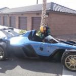 Ngắm siêu xe nhẹ cân Drakan Spyder