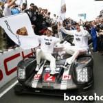 Siêu xe của Porsche vô địch trên đường đua 24h Le Mans 2016