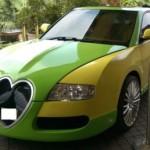 """Choáng Honda Accord """"lên đời"""" thành siêu xe Bugatti Veyron"""