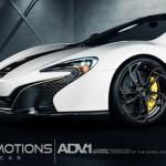 Ngắm siêu xe McLaren 650S Spider trắng độ mâm dân chơi