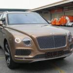 Xe siêu sang Bentley Bentayga 6 tỷ đồng về Việt Nam