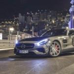 Ngắm siêu xe Mercedes AMG GTS trên đường phố