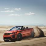 Xe siêu sang Range Rover Evoque mui trần cho dân chơi