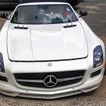 Ngắm cận cảnh siêu xe Mercedes SLS GT mui trần ở Sài gòn