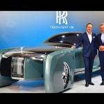 Xe siêu sang Rolls-Royce Vision ý tưởng 100 năm sau