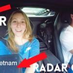 Cặp đôi sung sướng được ngồi trong siêu xe Lamborghini Huracan