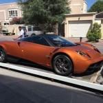 Đại gia Minh nhựa đã trả lại siêu xe Pagani Huayra về Mỹ