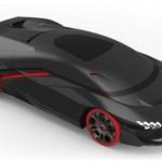 Lamborghini LV-426 siêu xe tự lái hiện đại