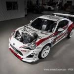 Toyota GT86 độ động cơ siêu xe Nissan GT-R R35