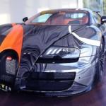 Siêu xe Bugatti Veyron Super Sport màu độc giá khủng