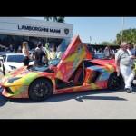 Người đẹp bên siêu xe Lamborghini Huracan độ rực lửa