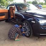 Ngắm xe siêu sang Rolls royce Dawn giá 1,5 triệu đô ở Hải Phòng