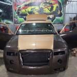 Xe siêu sang Rolls royce tự chế của thợ Việt chỉ 200 triệu đồng