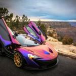 Siêu xe McLaren P1 độ màu sặc sỡ của sao bóng chày Mỹ