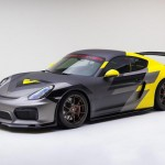Ngắm siêu xe Porsche Cayman GT4 độ bởi Vorsteiner