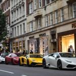 Nhiều siêu xe của tỷ phú Ả Rập xuất hiện ở Anh