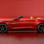 Siêu xe hiếm Aston Martin Vanquish Zagato mui trần