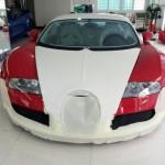 Siêu xe Bugatti Veyron của Minh nhựa được bảo dưỡng công phu