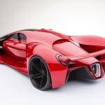 Xem bản phác thảo tuyệt đẹp của siêu xe Ferrari F80 Concept