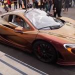 Thêm 1 siêu xe siêu xe McLaren P1 có khả năng đổi màu
