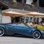 Lộ diện siêu xe Pagani Huayra Futura trên đường