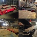 Hầm chứa siêu xe cổ giá nhiều triệu đô bị bỏ hoang