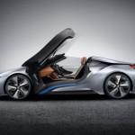 Siêu xe BMW i8 phiên bản mui trần mới