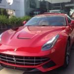 Siêu xe Ferrari F12 và bentley Mulsanne của đại gia Thanh Hóa