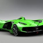 Vẻ đẹp siêu xe tương lai Lamborghini Spectro tự lái