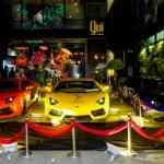 Dàn siêu xe Lamborghini khủng xuất hiện trong sự kiện của Minh nhựa