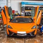 Siêu xe McLaren 570S màu cam vào miền nam tìm khách