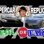 Siêu xe và những xe bình dân độ giả siêu xe biểu diễn