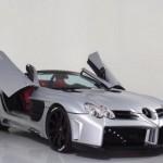 Siêu xe khủng Mercedes SLR McLaren mui trần độ cực ngầu