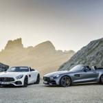 Bộ đôi siêu xe Mercedes AMG GT Roadster và GT R bán ở Anh