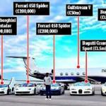 Mayweather đổ tiền mua siêu xe và bao chân dài