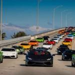Lễ hội siêu xe Lamborghini BullFest 2016 với hơn 80 siêu xe